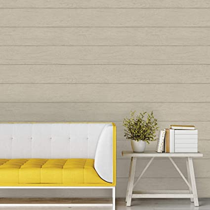 Tempaper Twig Textured Shiplap Designer Removable Peel And