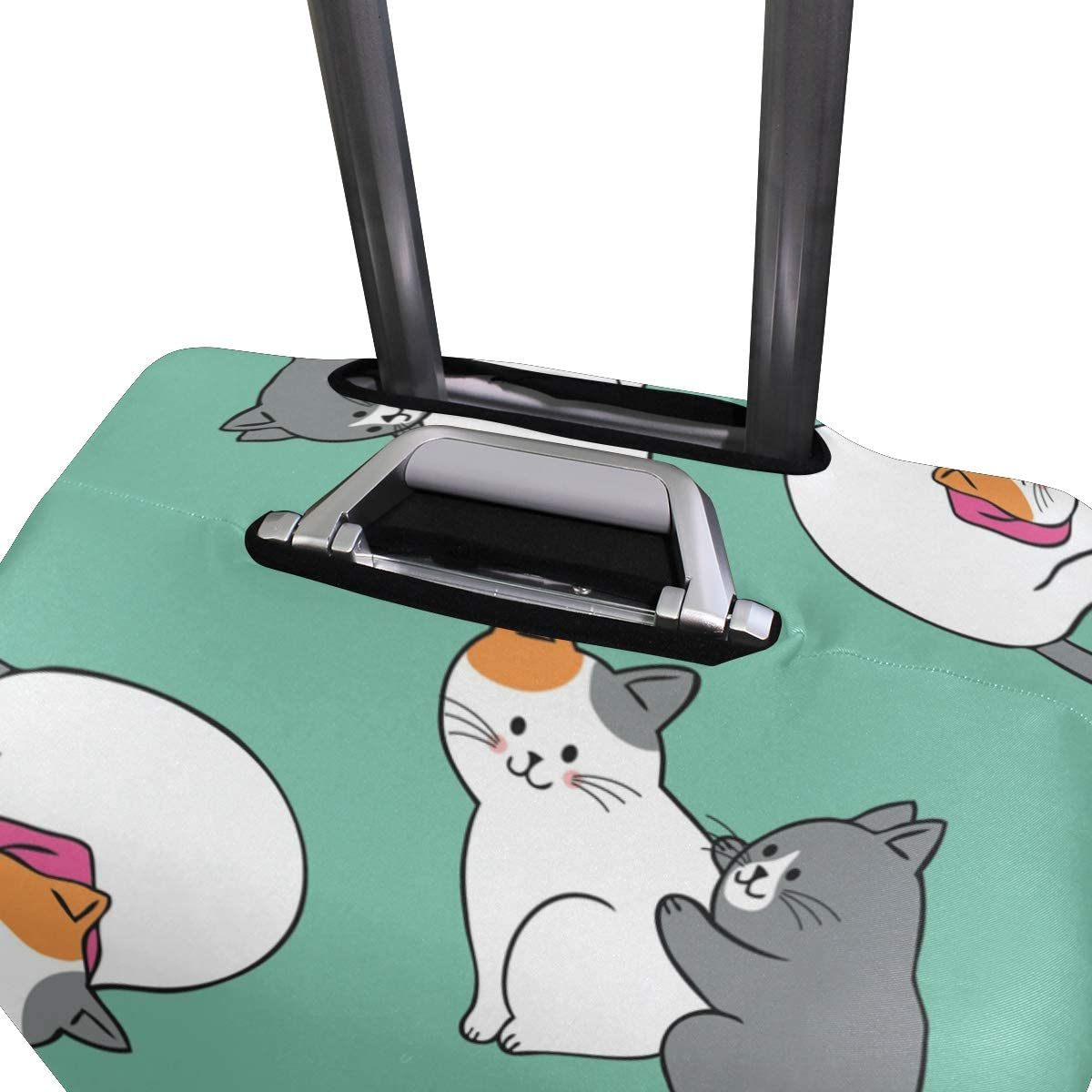 Cats Travel Luggage Cover Suitcase Protector Fits 18-32 Inch Luggage Baggage Suitcase Covers