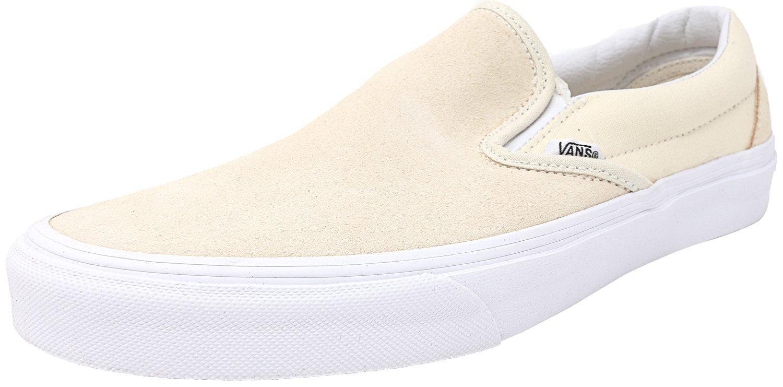 Vans Unisex Classic (Checkerboard) Slip-On Skate Shoe B01LZYXDAB 4.5 D(M) US|Afterglow/True White