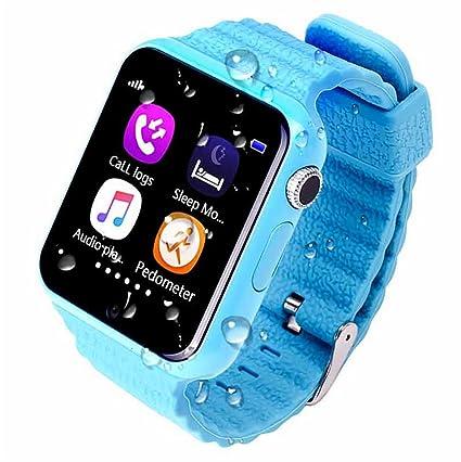 ZNSB Niños Inteligente Relojes, Rastreador GPS Para Niños Niñas Niños Con Cámara SIM Llamadas Anti
