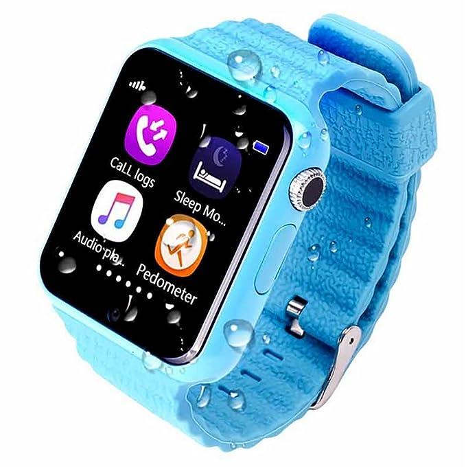 ZNSB Niños Inteligente Relojes, Rastreador GPS Para Niños Niñas ...