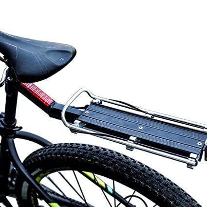 MTB Bicycle Carrier Rack Seat Post Rear Shelf Aluminum Alloy Outdoor ED