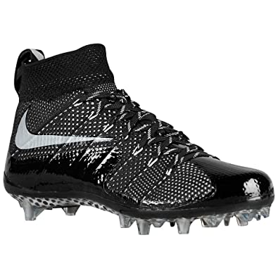83966103b13f Amazon.com | Nike Mens Vapor Untouchable Mens Football Cleats Black ...