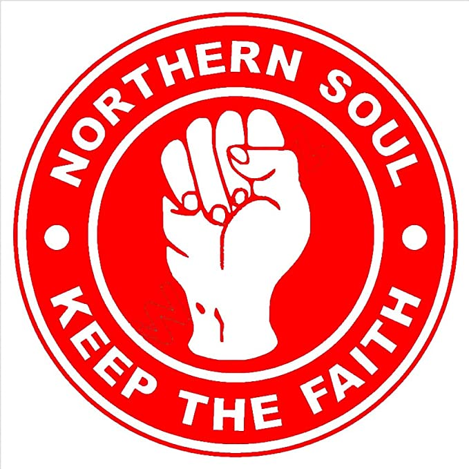zhuziji Wxduuz Northern Soul Keep The Faith Logo Vinilo Adhesivo ...