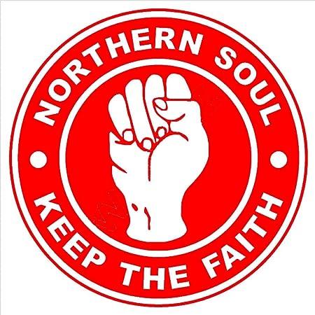 zhuziji Wxduuz Northern Soul Keep The Faith Logo Vinilo ...