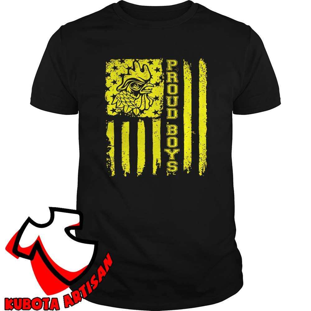 Proud Boys Merch Proud Boys Flag T-shirt Long Sleeve Sweatshirt Hoodie