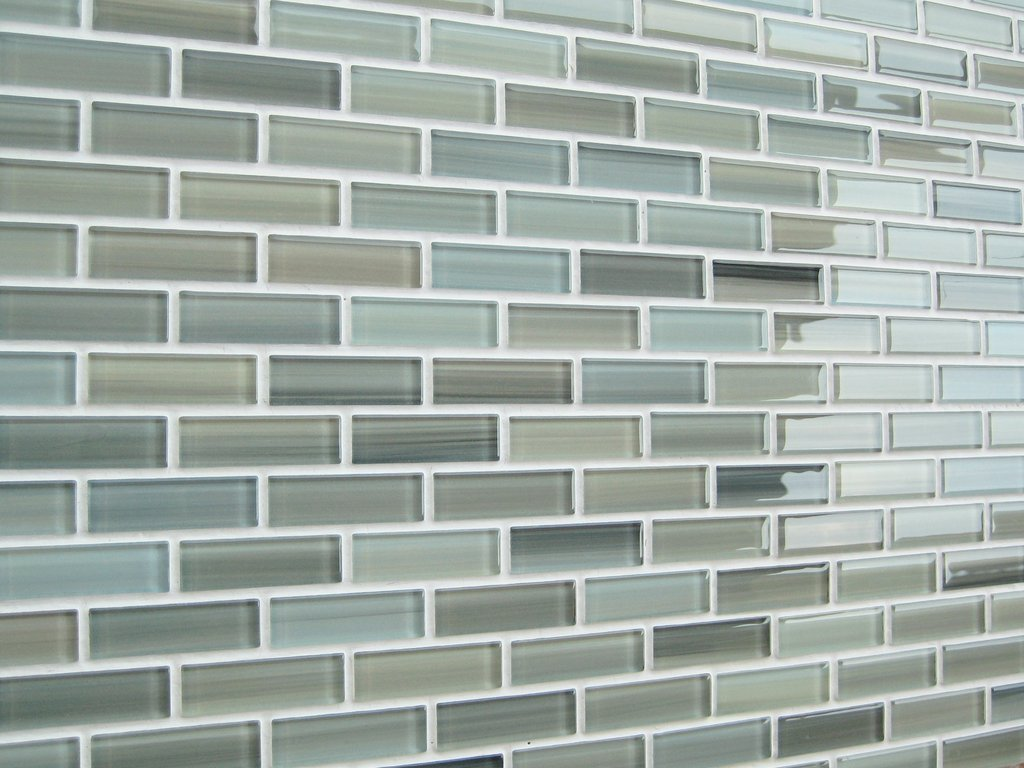 sample reflections hand painted glass mosaic subway tiles amazoncom