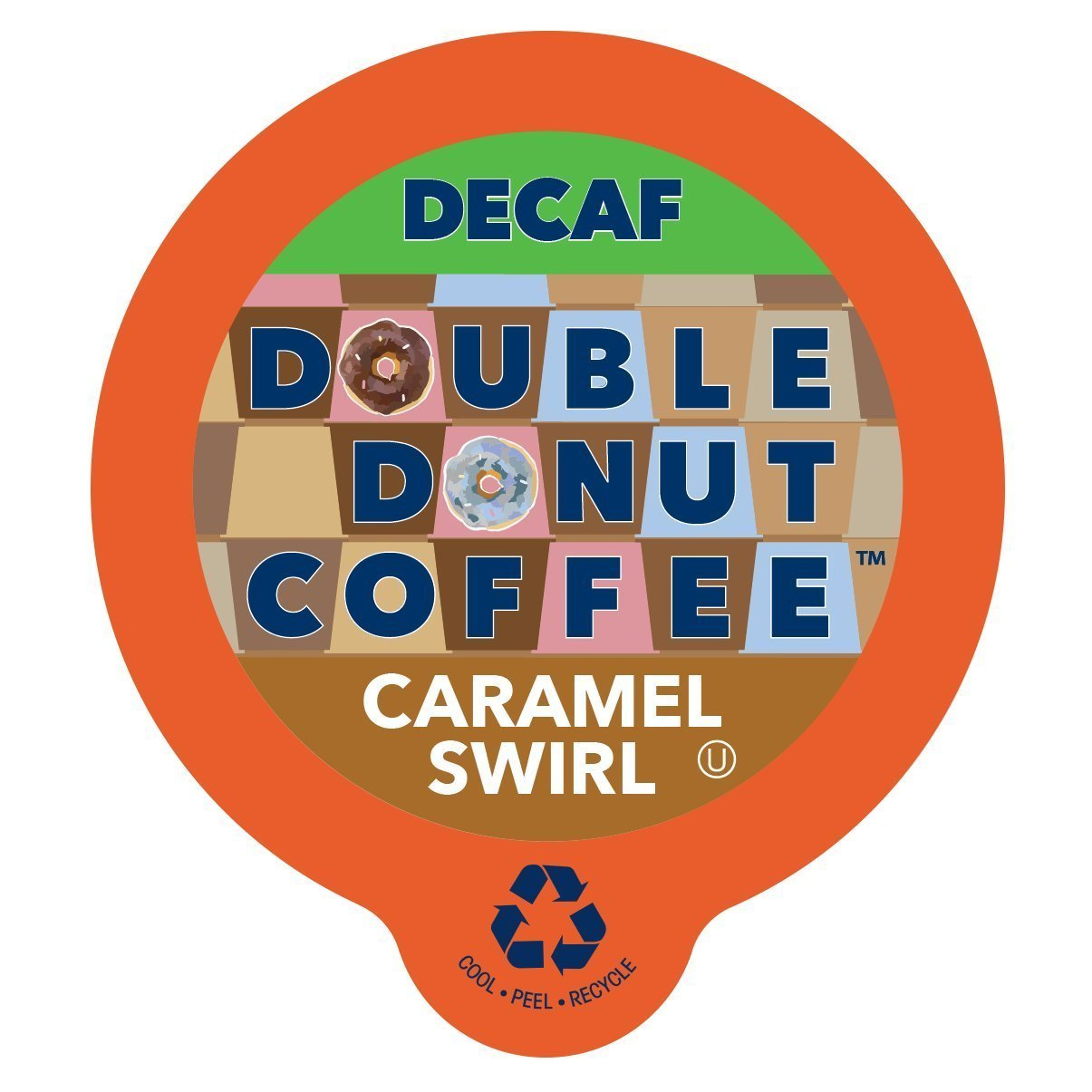 Double Donut Coffee Decaf Pumpkin Spice Flavored Coffee