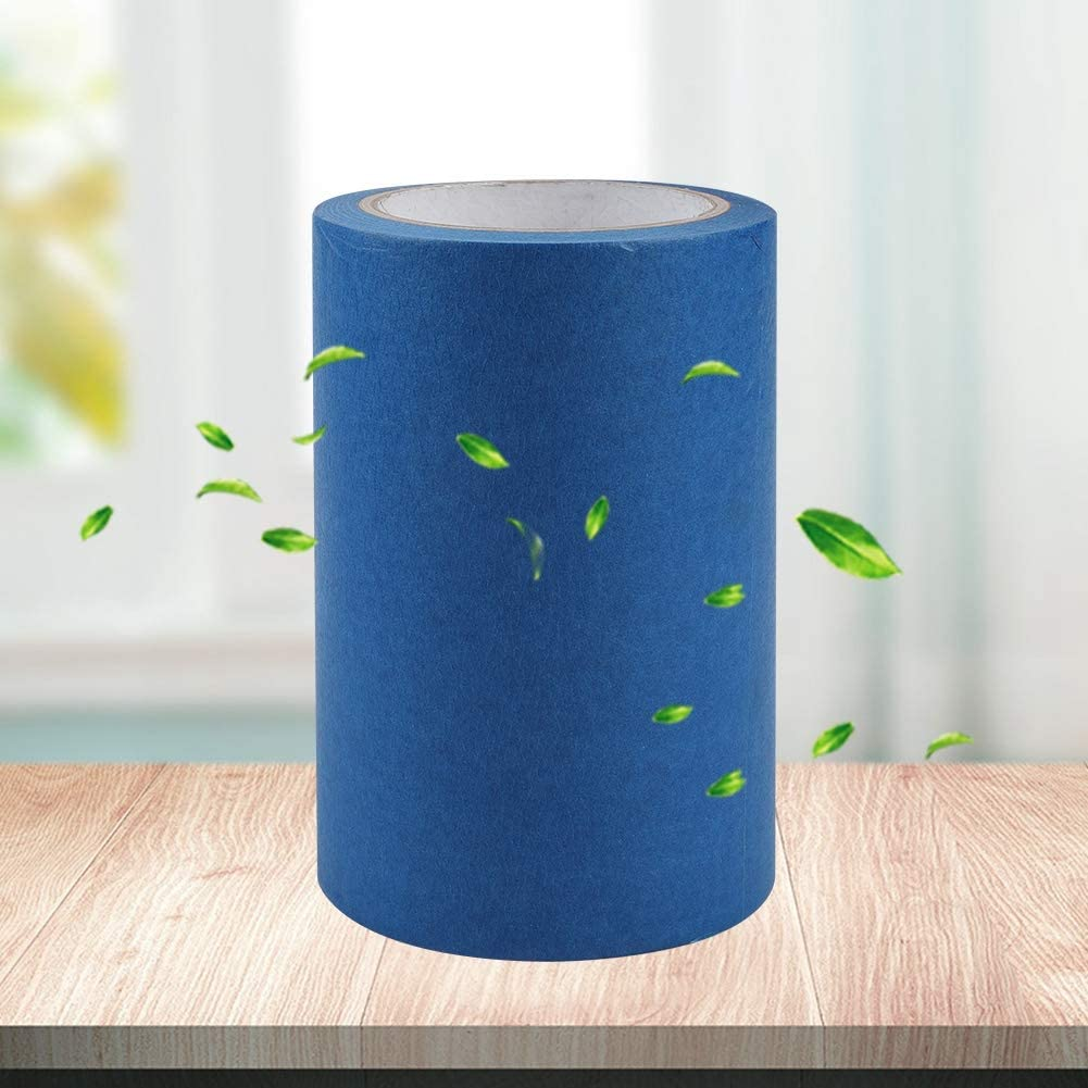 Diyeeni Blue Painters Tape,6118in Blue Painters Tape Great Adhesion Full Masking Blue Tape Suitable for Makerbot 3D Printer