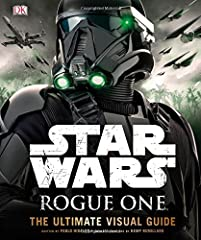 The essential, comprehensive guide to Rogue One: A Star Wars Story™.       This exciting reference format accompanies the eagerly anticipated, first-ever standalone Star Wars™ movie: Rogue One. This beautifully detailed title features ...