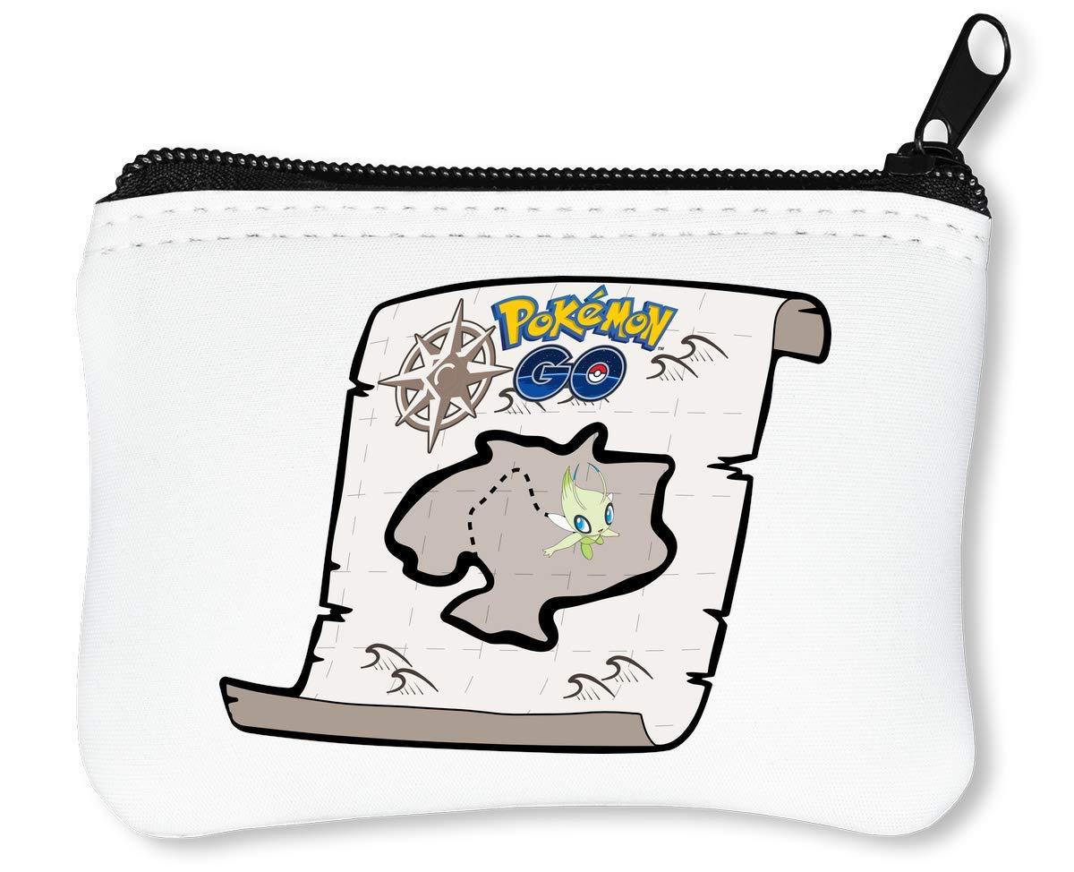 Pokemon GO Game Map Billetera con Cremallera Monedero ...