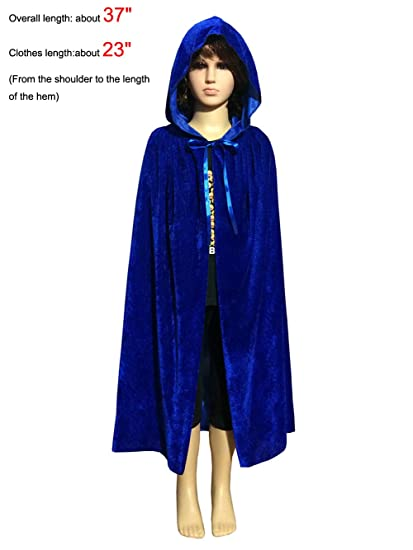 Amazon.com  PENTA ANGEL Magic Halloween Christmas Party Vampire Hooded Cloak  Cosplay Dress Costume Cape  Clothing 860c831c5