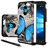 """Jitterbug Smart (5.5"""") Case, Linkertech [Shock Absorption] Heavy Duty Defender Dual Layer Protector Hybrid Case Cover For Jitterbug Smart (5.5inch) (B-4)"""