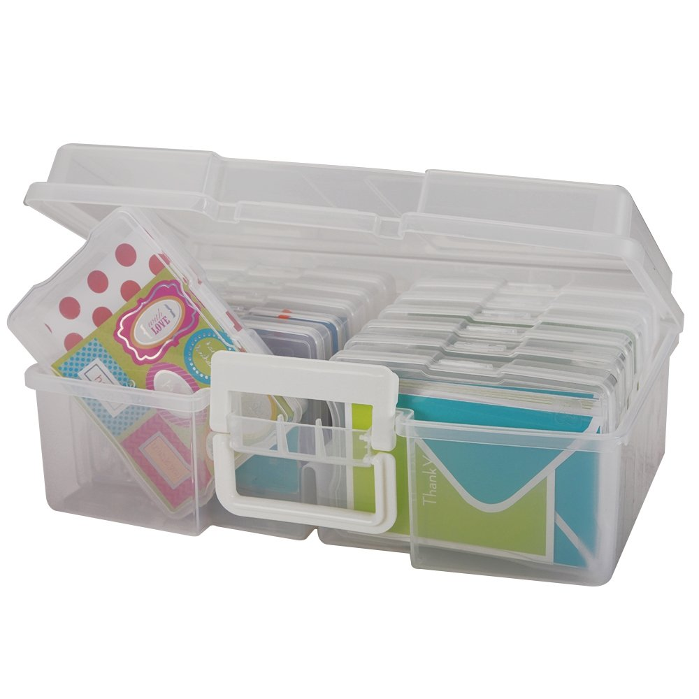 Scrapbook paper carrying case - Iris Large Photo Keeper With Small Photo Cases
