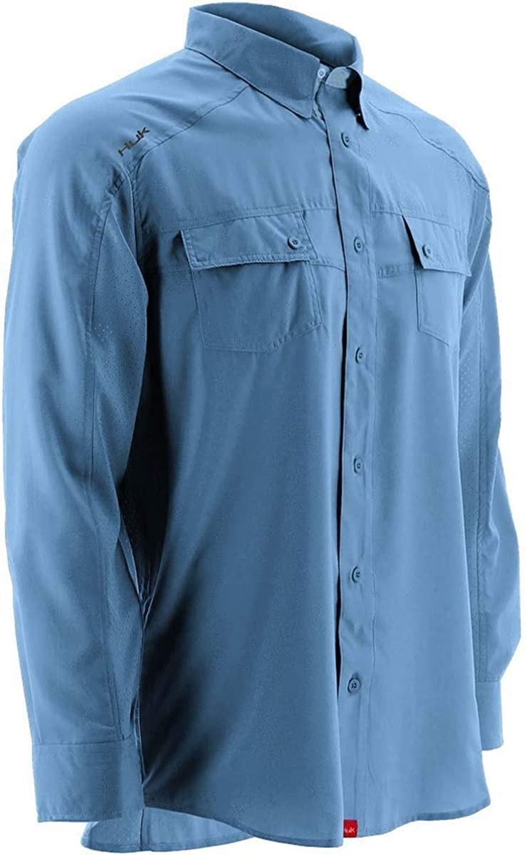 HUK Mens Next Level Long Sleeve Shirt