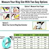 Rinfit Silicone Wedding Ring for Women - 3 Rings