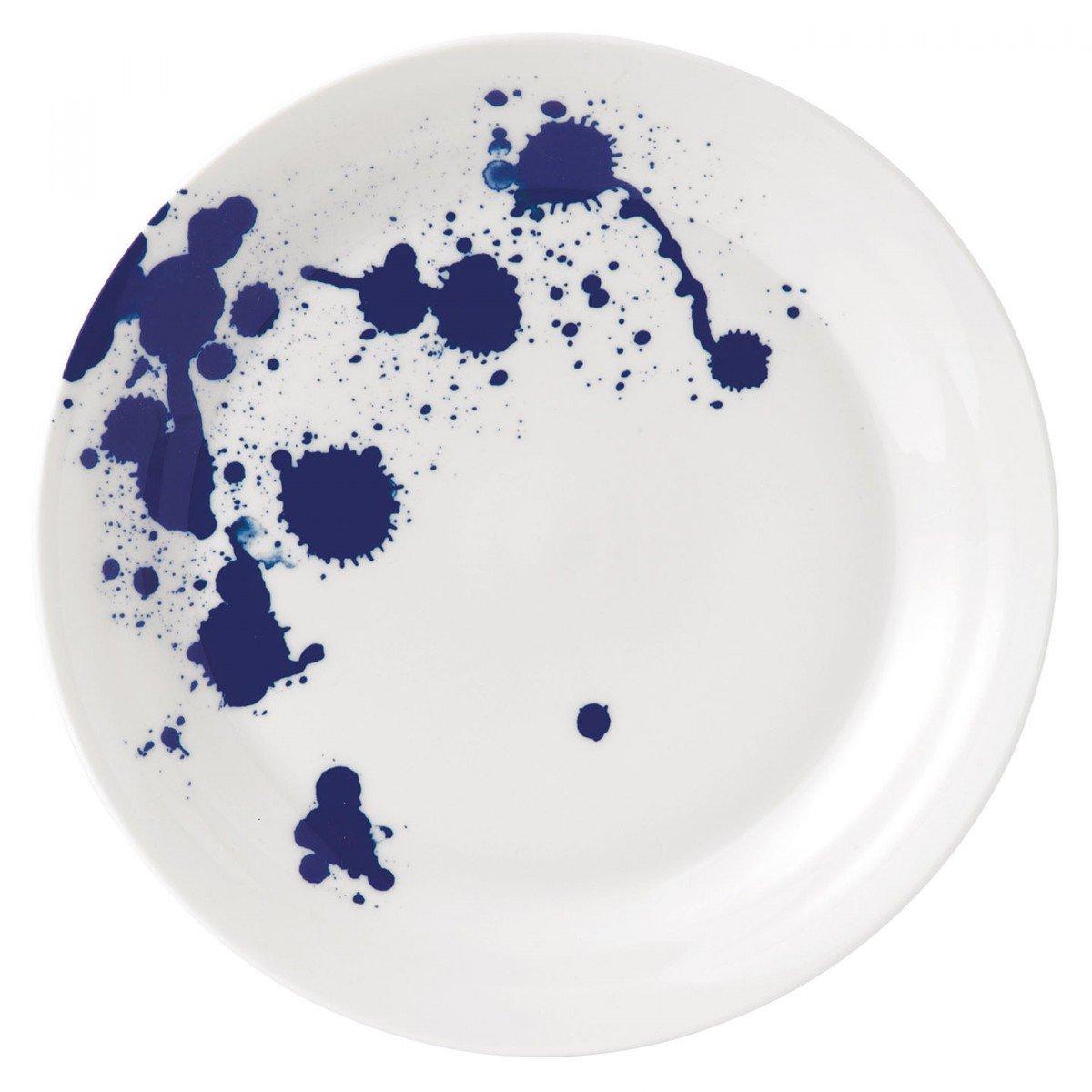 Royal Doulton - Speisetelle - Essteller - Pacific - Splash - Porzellan - Ø 28cm