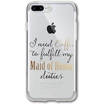 Amazon.com: I Need Coffee iPhone 7/8 Plus Case Cover Phone ...