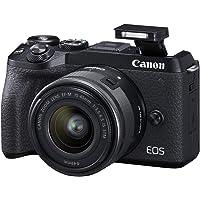 Canon EOS M6 Mark II (Black)+Ef-M 15-45mm F/3.5-6.3 IS STM + Evf Kit