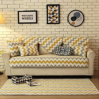 Tremendous Amazon Com Sectional Sofa Slipcovers Waterproof Microfiber Onthecornerstone Fun Painted Chair Ideas Images Onthecornerstoneorg