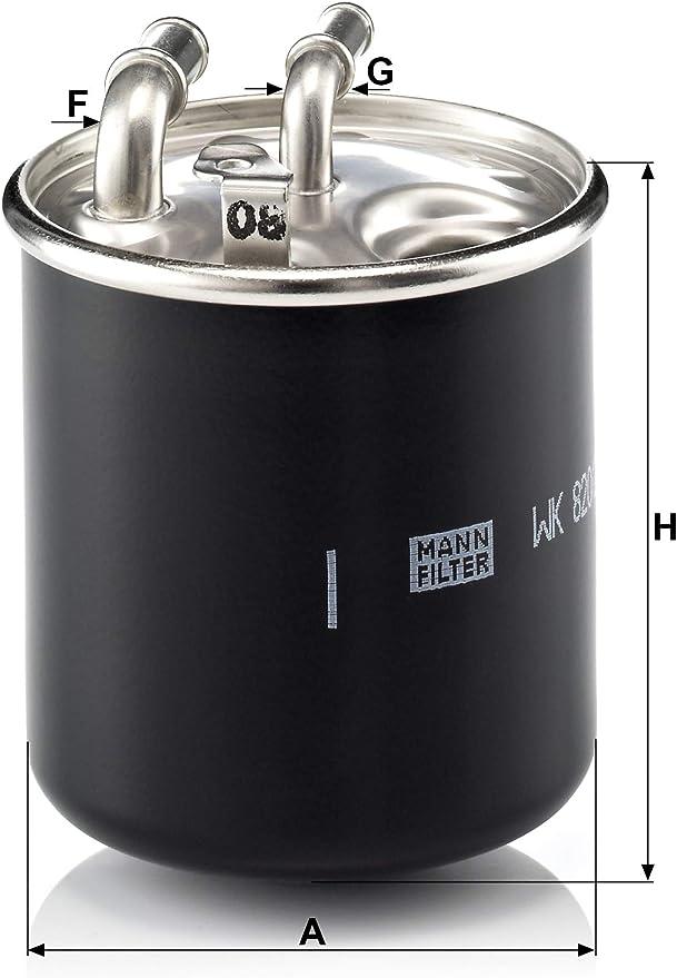Original Mann Filter Kraftstofffilter Wk 820 2 X Kraftstofffilter Satz Mit Dichtung Dichtungssatz Für Pkw Und Lkw Auto