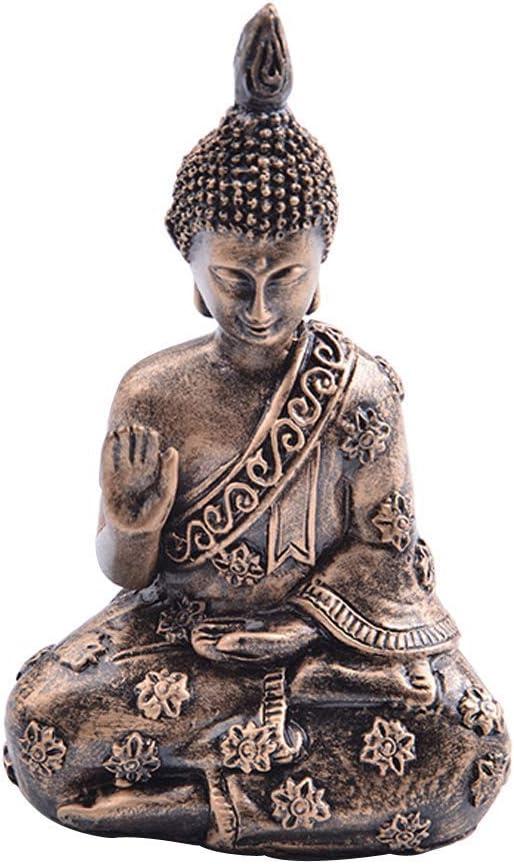 Meditating Buddha Statue Resin Buddha Meditating Peace Harmony Statue Home Decoration Ornament Zen Buddha Statue Small Size Buddha Statue Statuette Figurine For Yoga Meditation Room Decorating Amazon Ca Home Kitchen