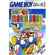 "CGC Huge Poster - Super Mario Bros Deluxe Nintendo Game Boy Color GBC BOX ART - GBC041 (24"" X 36"")"