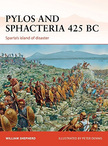 Read Online Pylos and Sphacteria 425 BC: Sparta's island of disaster (Campaign) PDF