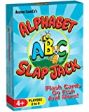 Alphabet Slap Jack, a 4-in-1 ABC Letter Learning Card Game (Slap Jack, Go Fish, Letter Flash Cards, and Other Fun Preschool Alphabet Learning Games)