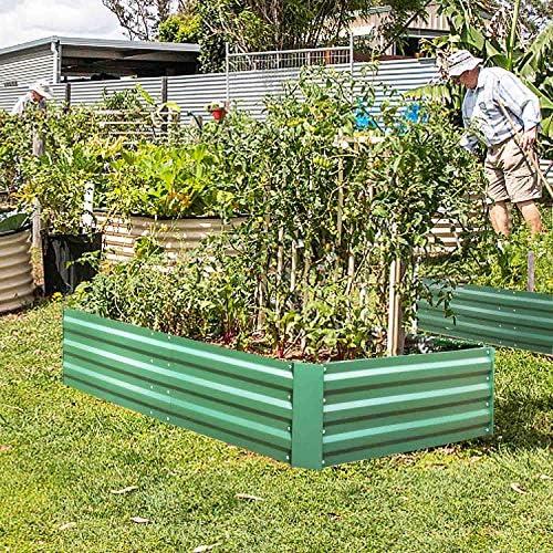 FOYUEE - Cajas elevadas de jardín, para Plantar Camas de jardín ...