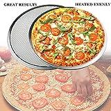 Seamless Aluminum Pizza Screen, Pizza Making Net