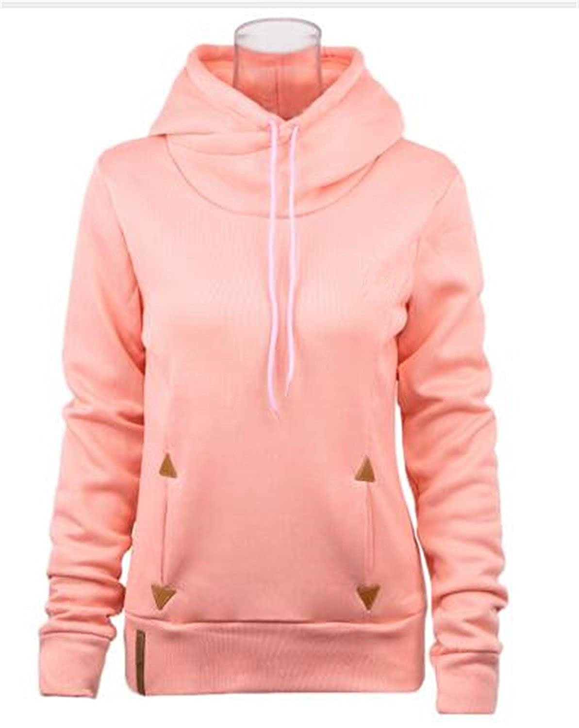 Kebinai Women Hoodies Self-Tie Pockets Pullover Hooded Loose Tops Hoodie For Women Sudaderas Mujer at Amazon Womens Clothing store:
