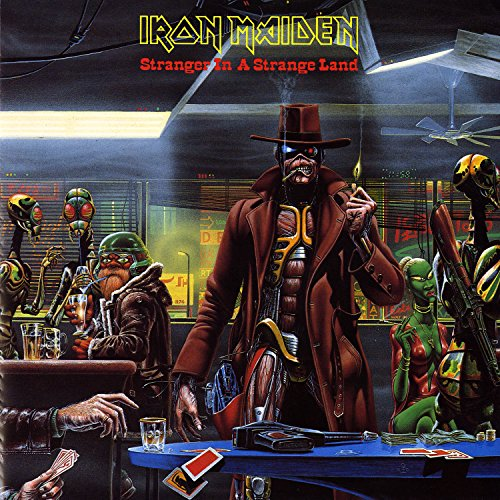 Original album cover of Stranger In A Strange Land [7 by Iron Maiden