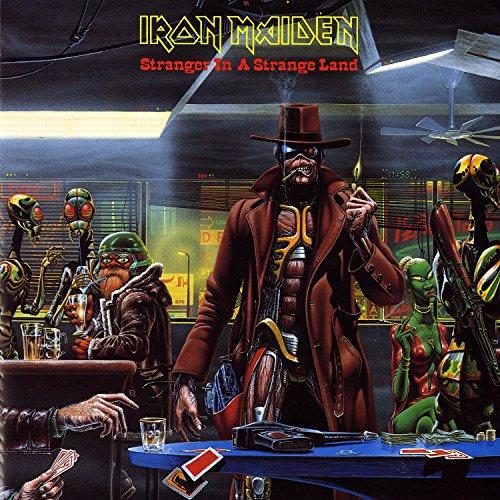 Original album cover of Stranger In A Strange Land [7 by Iron Maiden
