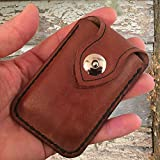 Personalized leather credit card wallet   Credit card leather wallet   Minimalist leather wallet   Business card holder