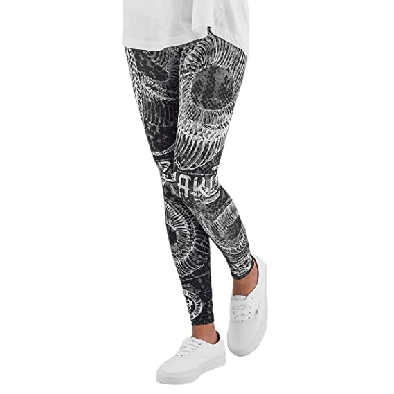 Neue Yakuza Damen Daily Use Leggings Schwarz