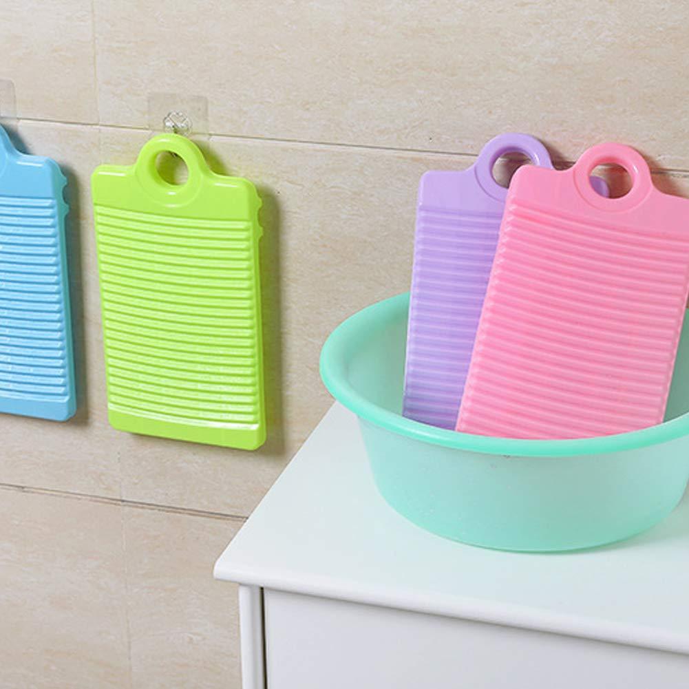 Semine Limpieza del hogar Lavander/ía Kid Espesar Camisas Antideslizantes Ropa Limpia Tabla de Lavar Tabla de Lavar