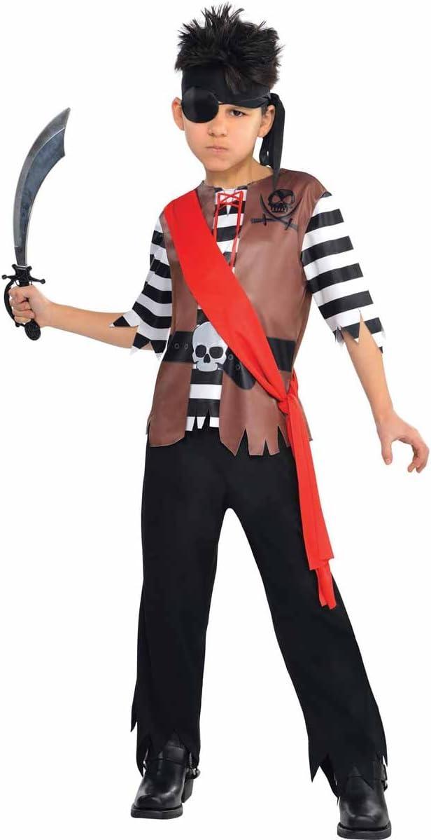 Disfraz de pirata Jack para niños y adolescentes en varias tallas ...