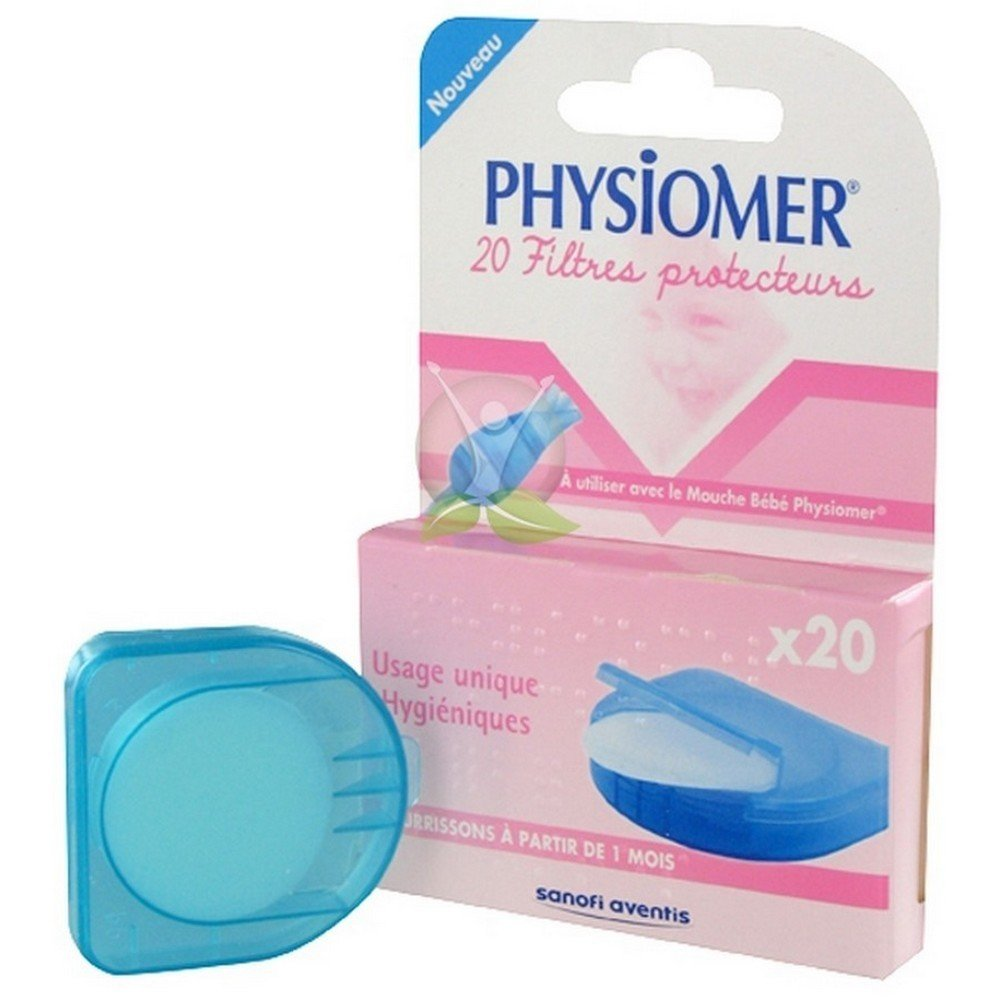 Physiomer 20 Protective Filters 9990191
