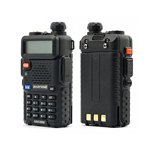 "144 opinioni per Baofeng- Radiotrasmittente dual band per radioamatori ""UV-5R"", 2 m / 70 cm, 136-"