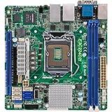 ASRock Motherboard, Mini ITX DDR3 1066 LGA 1150 E3C224D2I