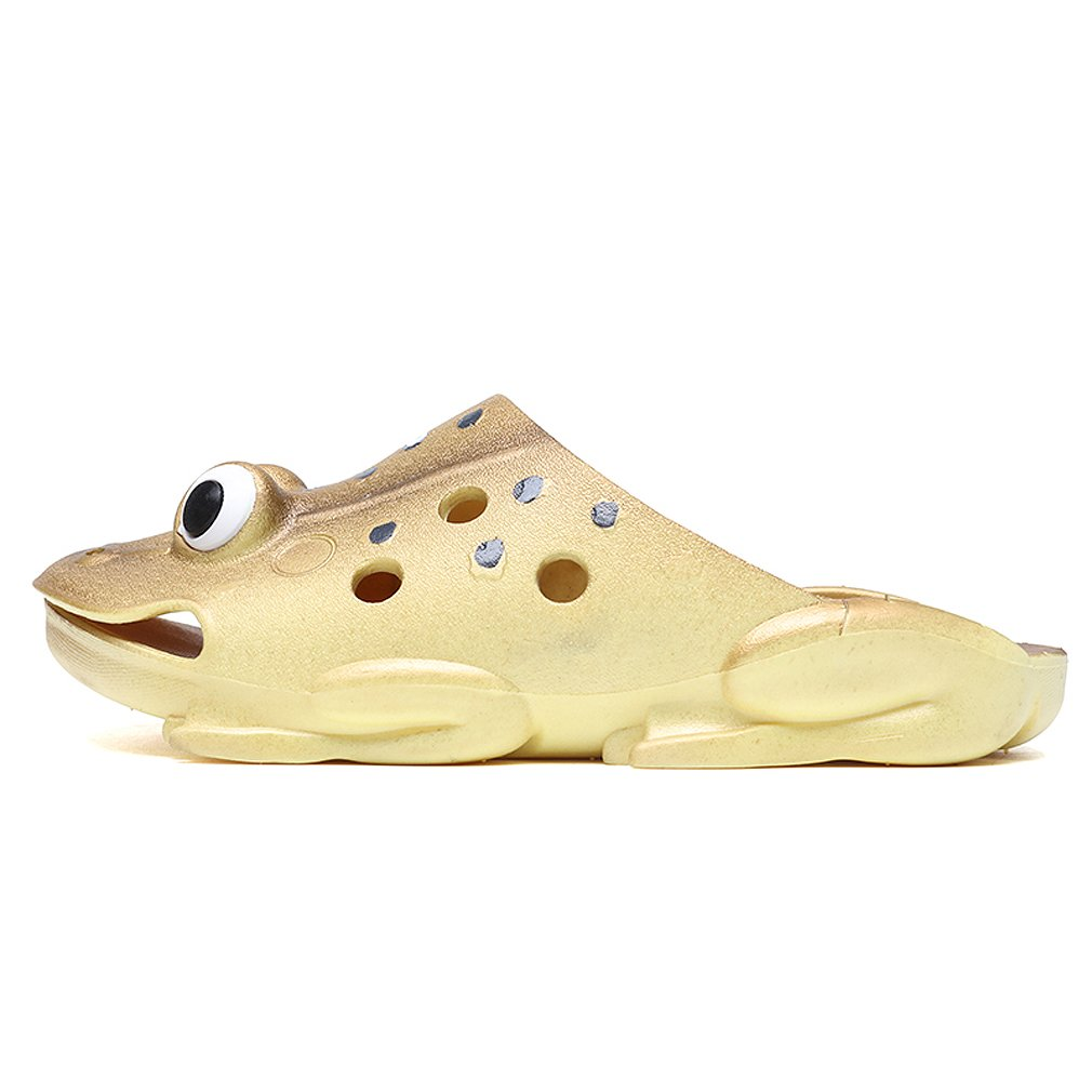 KVbaby Kids Ultra-Soft Slipper Cute Garden Shoes Frog Clogs Summer Beach Walking Slippers