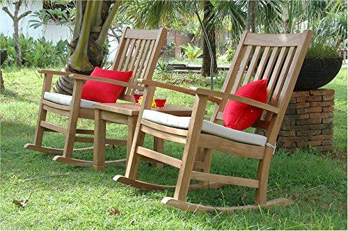 Anderson Teak Palm Beach Collection Outdoor Furniture Set, Maxim Heather ()