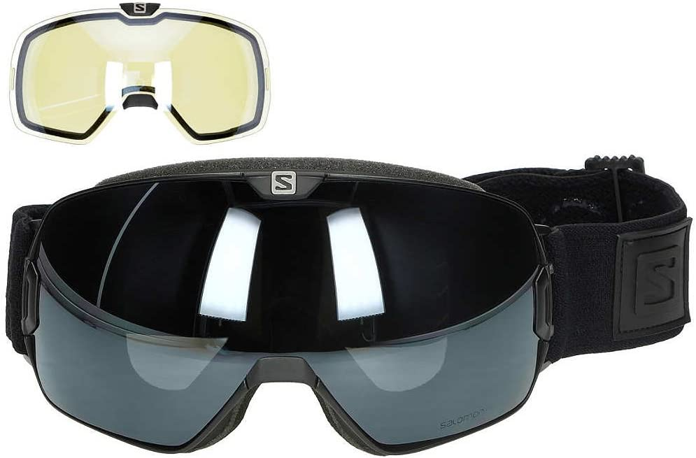 SALOMON Xmax Xtra Lens Googles, Black