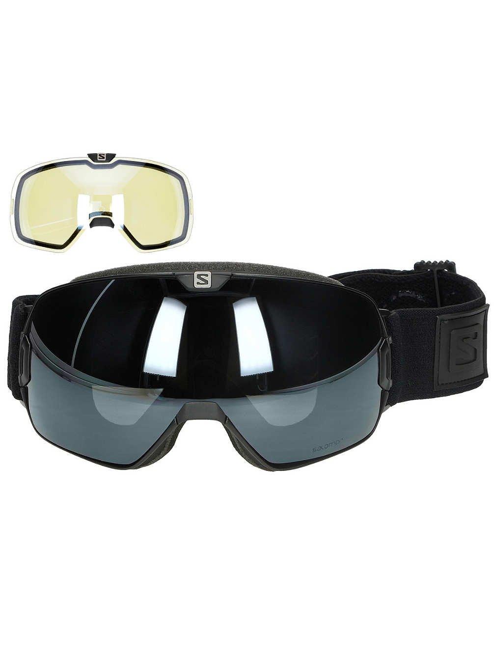 Salomon Xmax & Xtra Lens Googles, Black