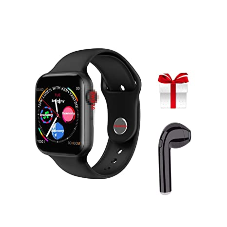 Amazon.com: Smart Watch Bluetooth Smartwatch Clock for Apple ...
