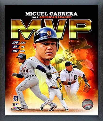 Miguel Cabrera Detroit Tigers 2012 AL MVP Photo (Size: 17