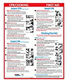 Infant CPR and Choking Magnetic Laminated Card