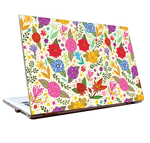 Tamatina Laptop Skins 15.6 inch   Flowers   Abstract