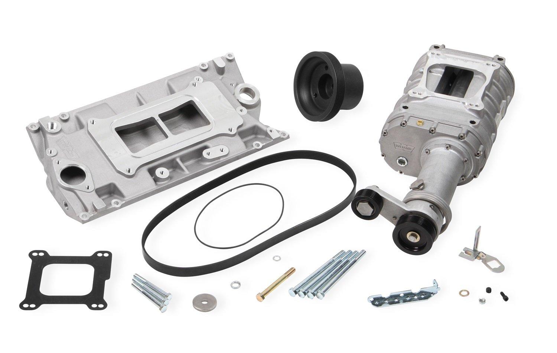 Amazon com: Weiand 6542-1 142 Pro-Street Supercharger Kit